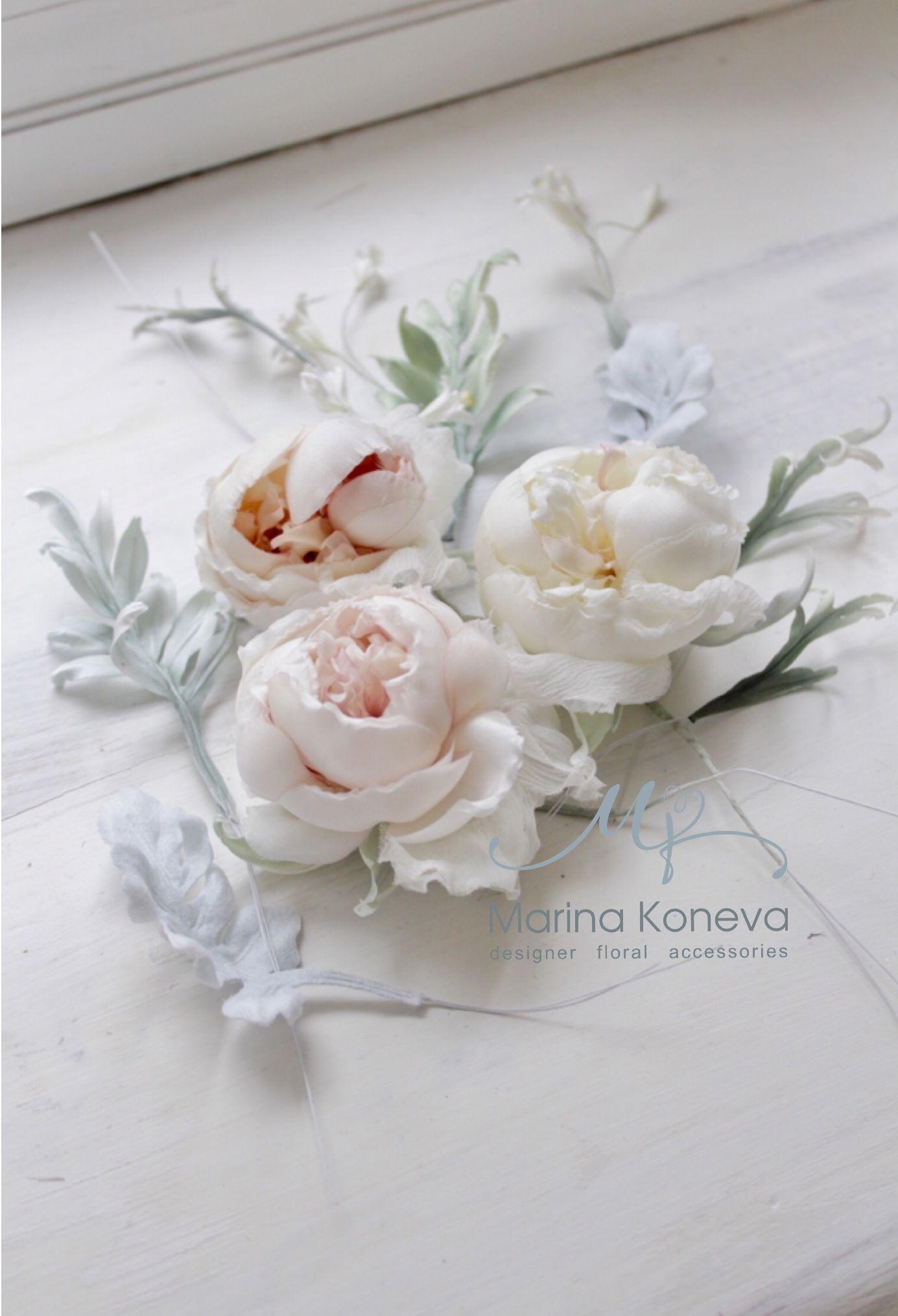 Silk Flowers Millinery Silk Flowers By Marina Koneva Pinterest