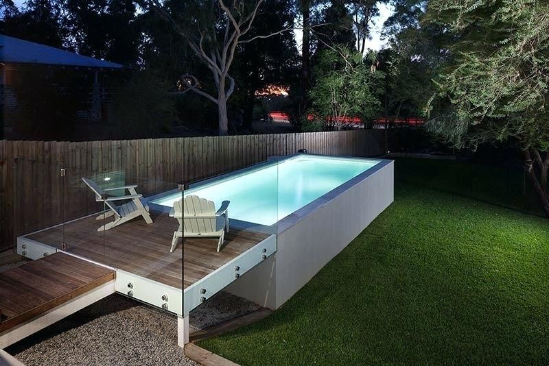 Above Ground Concrete Pool Image Result For Concrete Above Ground