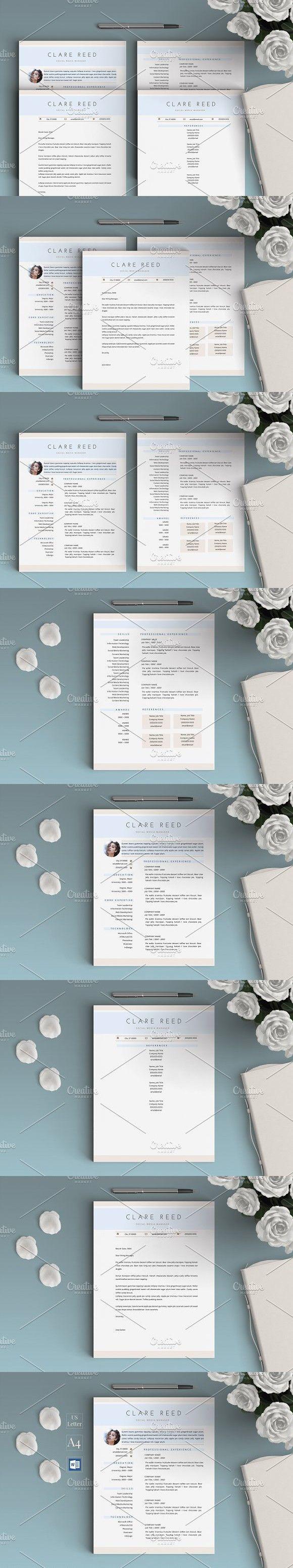 1 Page Resumecv Clare Teacher Resume Pinterest Resume