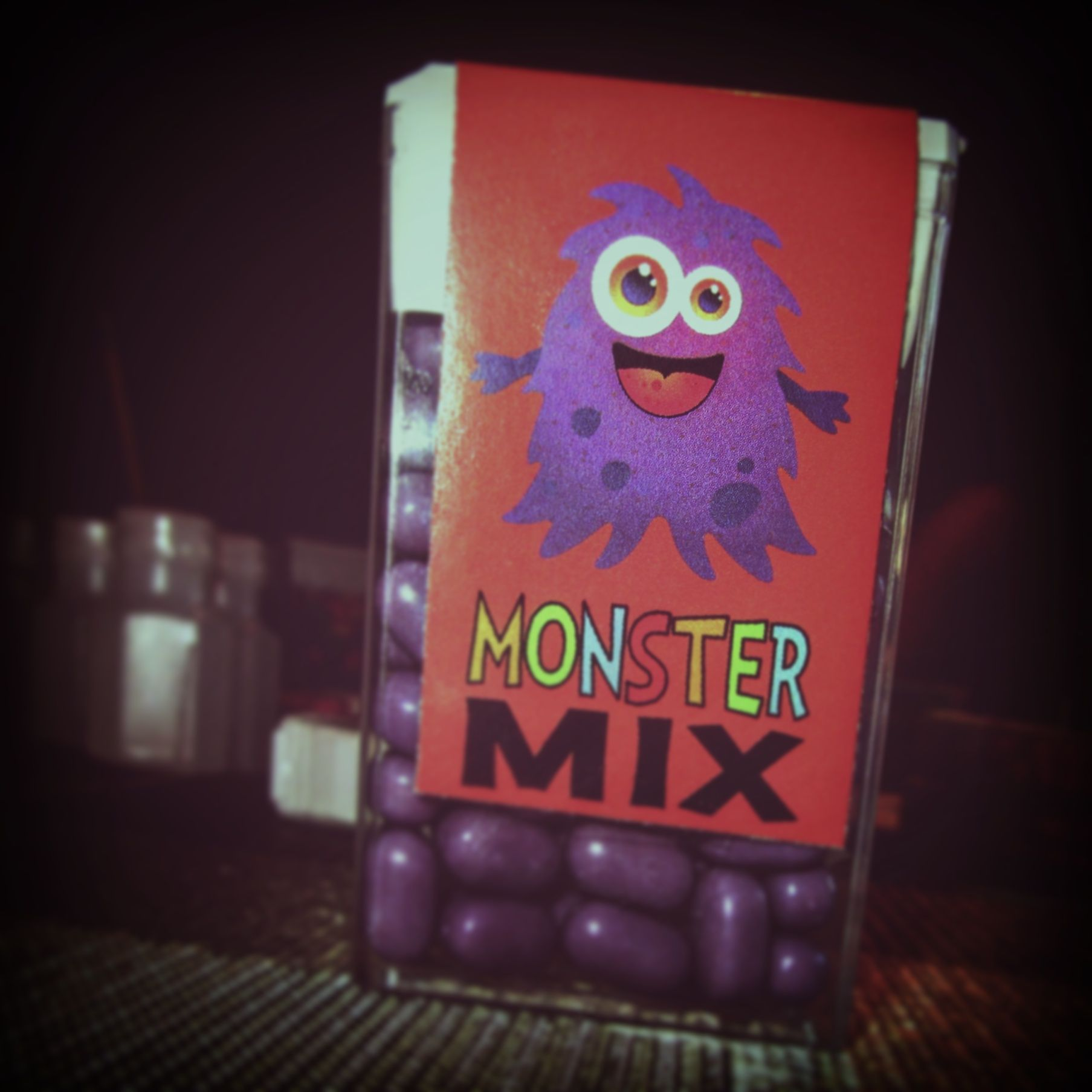 Halloween Tic Tacs - Monster Mix Purple Hairy Monster | Kid ...