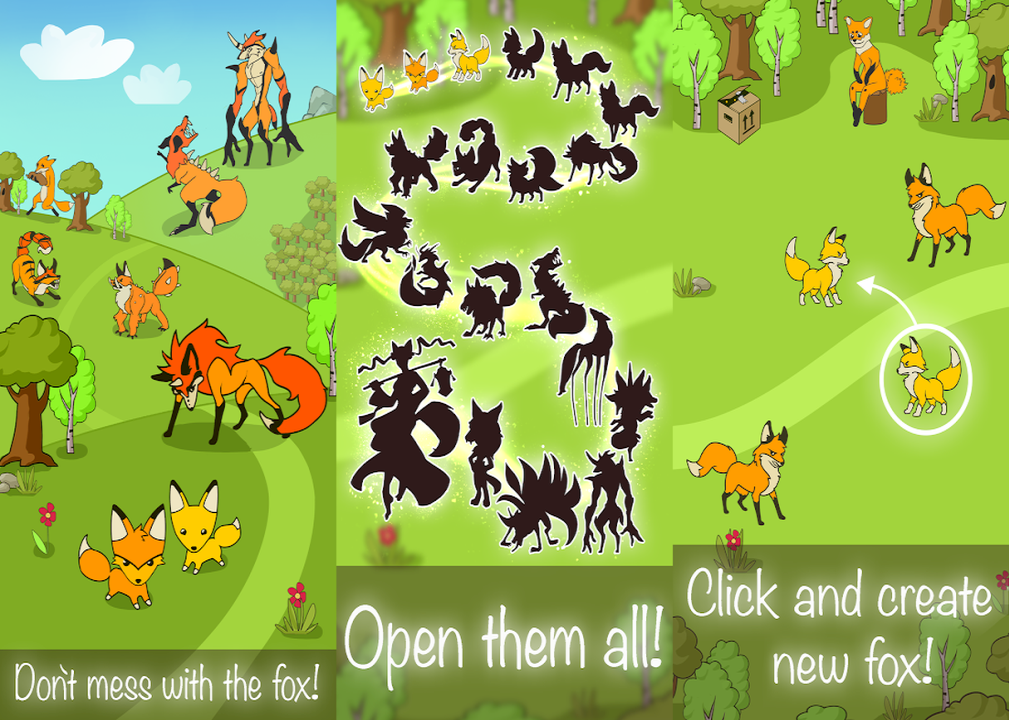 Angry Fox Evolution - Idle Cute Clicker Tap Game : Money Mod