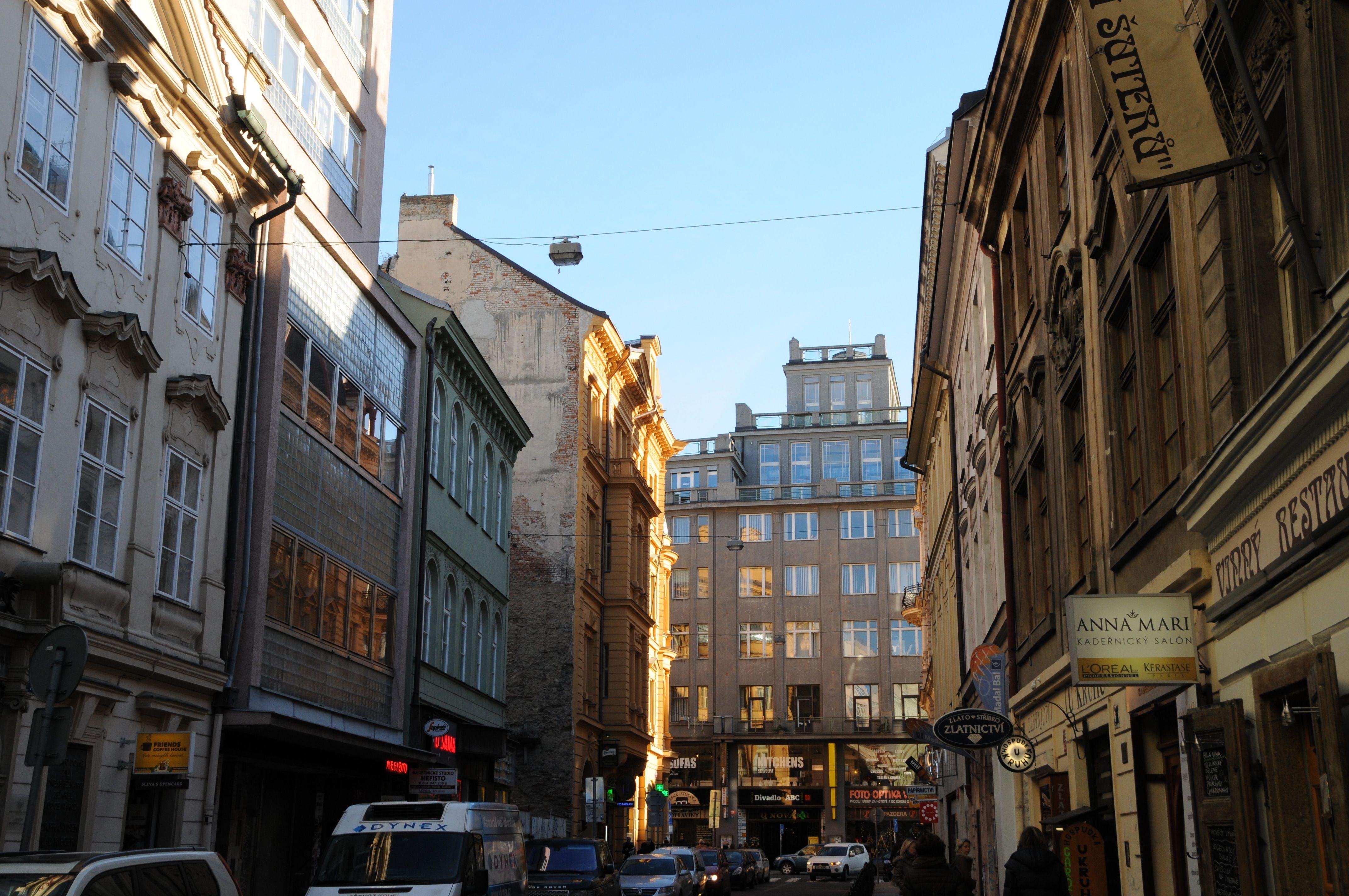 Typical New Town, Prague street | Prague, Czech republic