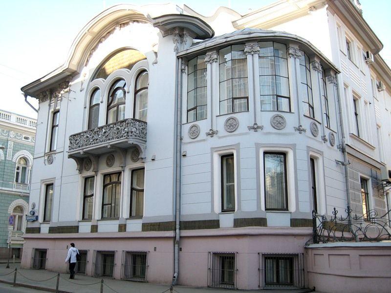 Л.Н.Кекушев. Особняк И.А.Миндовского на Поварской улице.1903-1904