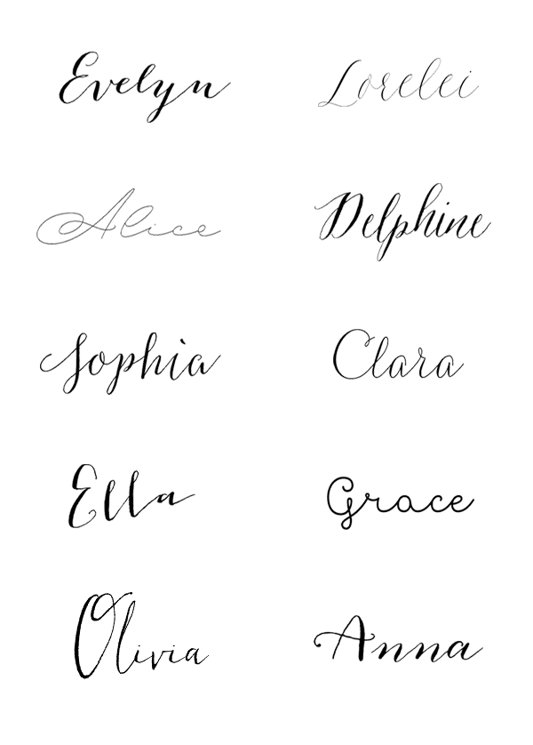 10 Best Wedding Fonts (Bisou Style) | Fonts, Weddings and Romantic ...