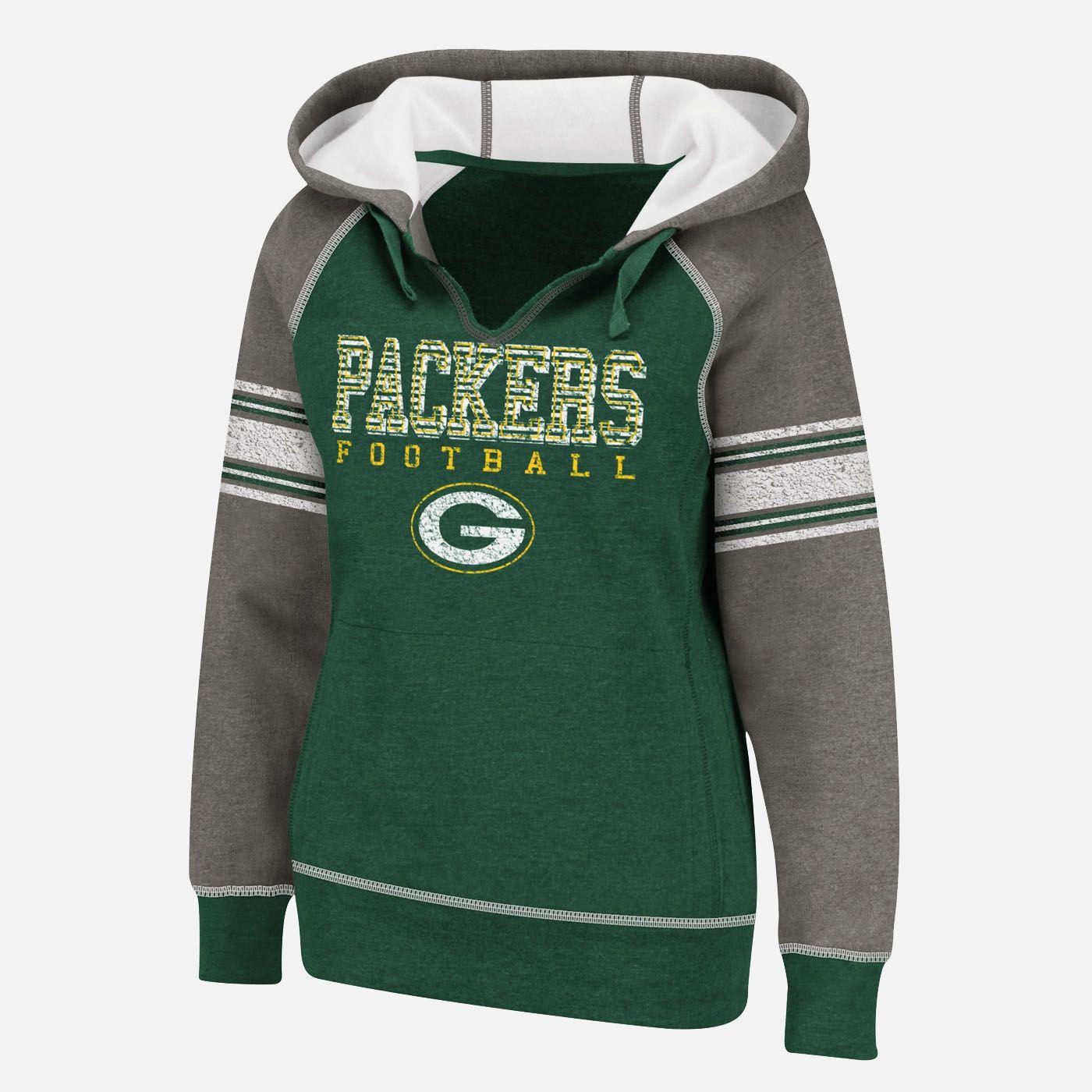 Team Shop Nfl Womens Green Bay Packers Hoodie Shopko Com Green Bay Packers Clothing Packers Clothing Atlanta Falcons Hoodie