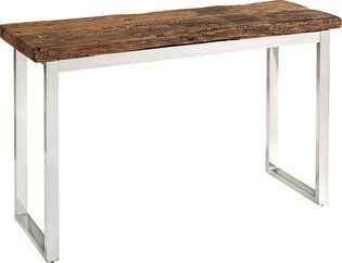 Railway Console Table With Images Colonial Decor Wood