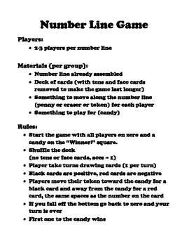 Math Lines Integers - Math Games | Math Playground