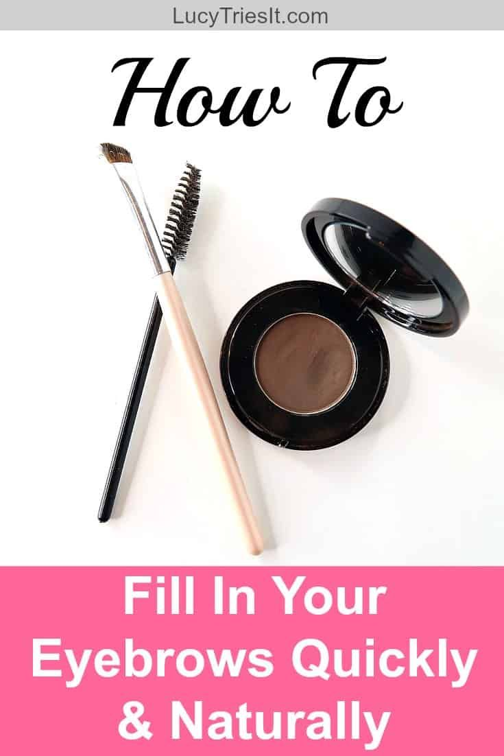 Super Quick Way To Fill In Eyebrows Naturally For Busy ...