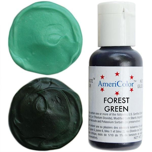 Forest Green Gel Paste Food Color | Frosting colors, Neon ...