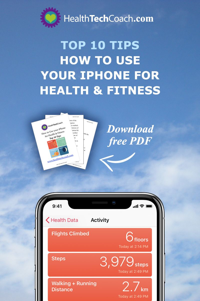 The Health app on your iPhone makes it easier than ever to