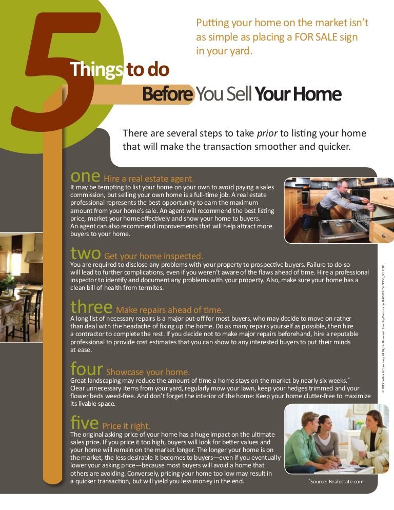 Tips Before Selling Your Home by Tanya Lavoie via