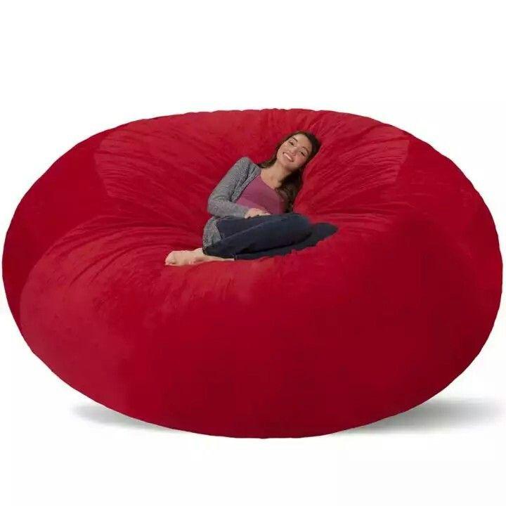 Prime Jaxx Giant Red Bean Bag Awesome Furnishings In 2019 Bean Cjindustries Chair Design For Home Cjindustriesco