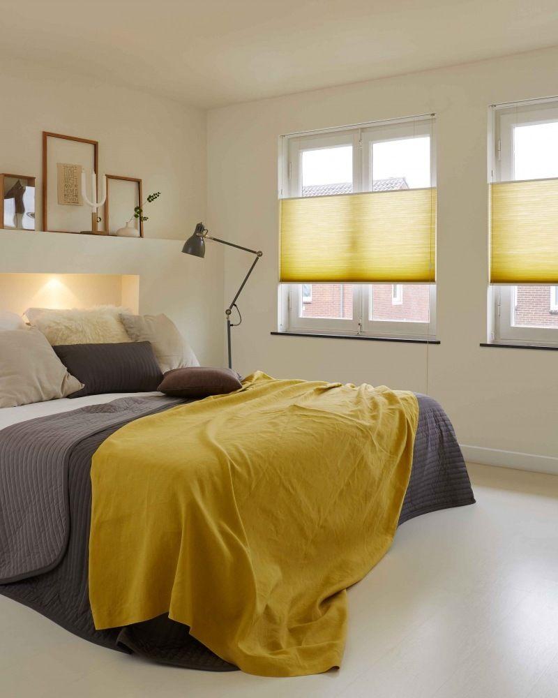 Duette Shade gordijn in geel. Mooi in de slaapkamer.   Duette ...