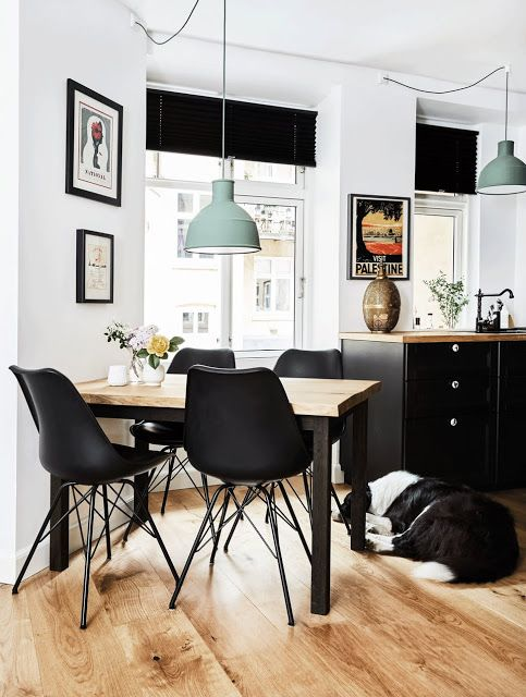 Copenhague cuisine noire avec de jolies poutres your pinterest likes cuisine noire - Cuisine copenhague ...