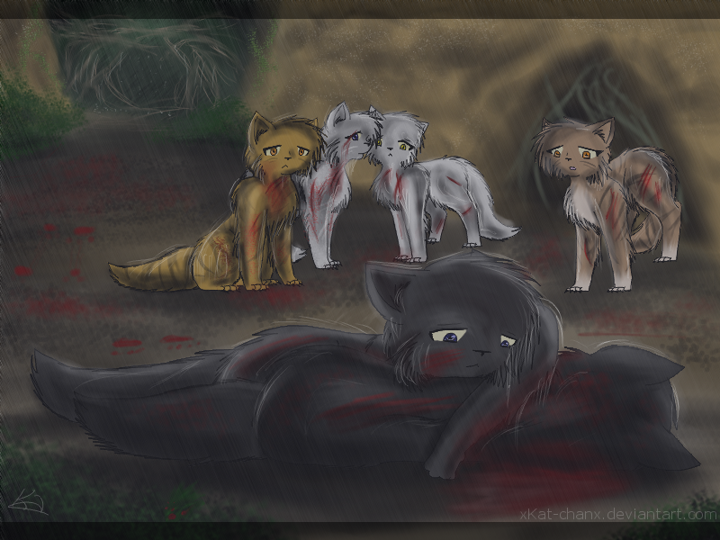 Actually this is CrowFeather mourning over HollyLeaf!! Not ...
