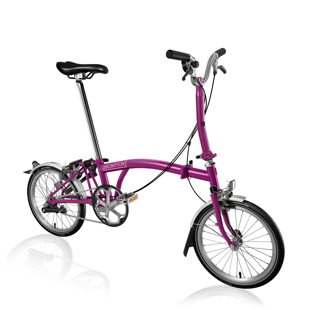The M3l Is Our Most Popular Model Of Brompton Folding Bike That S Because It Has Comfortable Handlebar And 3 Speeds This Is Brompton Bicycle Bicycle Brompton