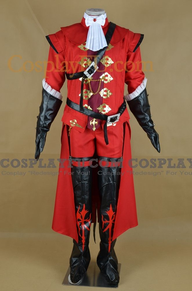 Custom Red Mage Cosplay Costume from Final Fantasy XIV