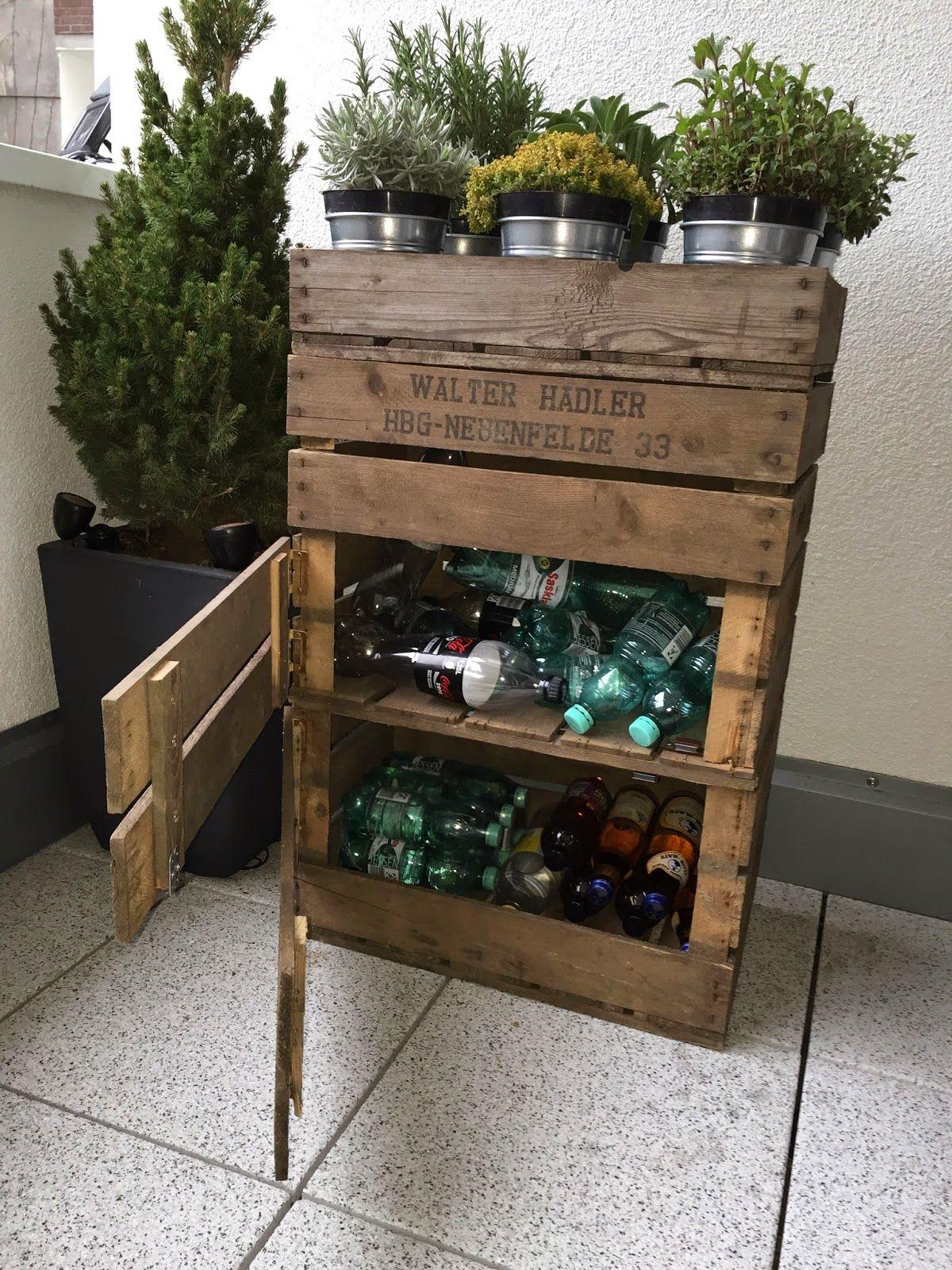 Holzmöbel design  einzelteil] IV: Flaschenlager