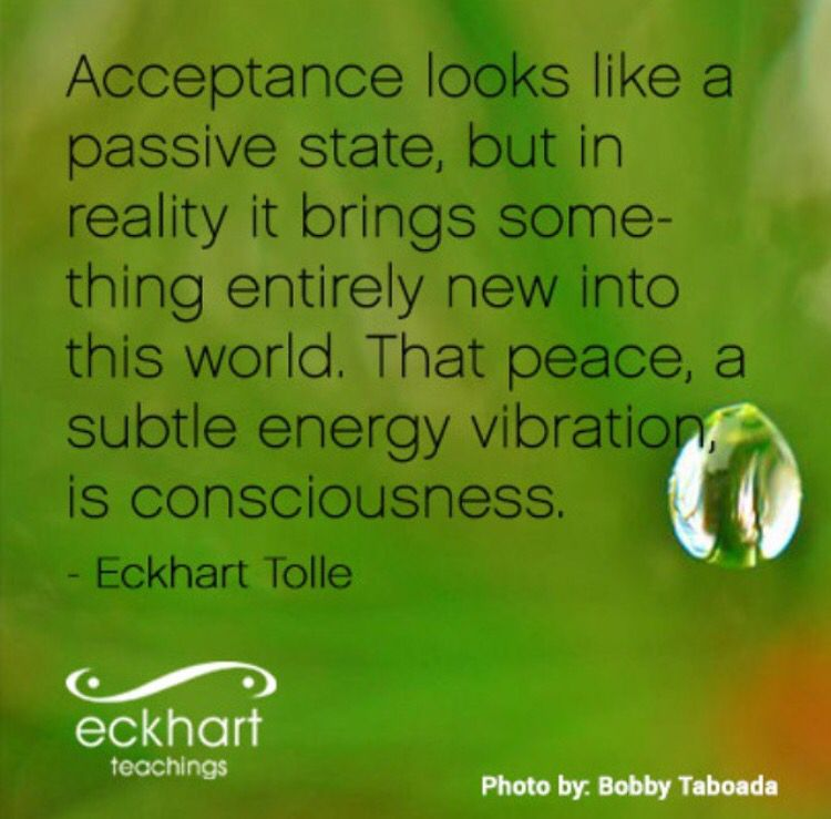 Image result for eckhart tolle quotes on acceptance