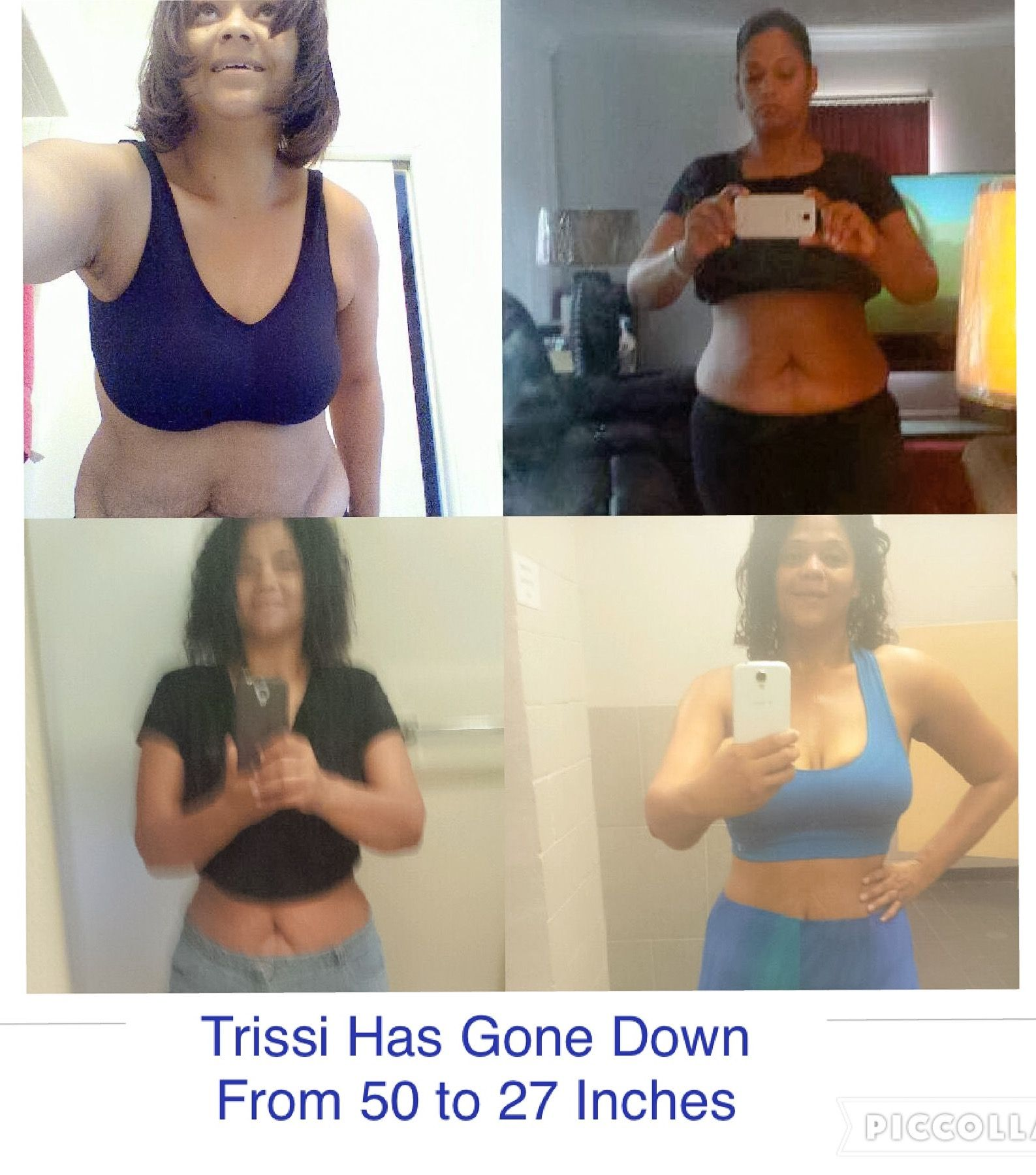 30-Day Flat Belly Challenge: Trissi: My Waist Went from 50 Inches to 27 Inches!