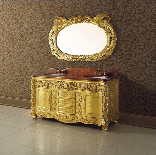 Solid Wood Bathroom Vanities Made In Usa Dengan Gambar