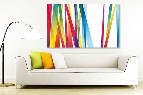 tableau lignes abstraites ligne tableau et art de mur abstrait. Black Bedroom Furniture Sets. Home Design Ideas