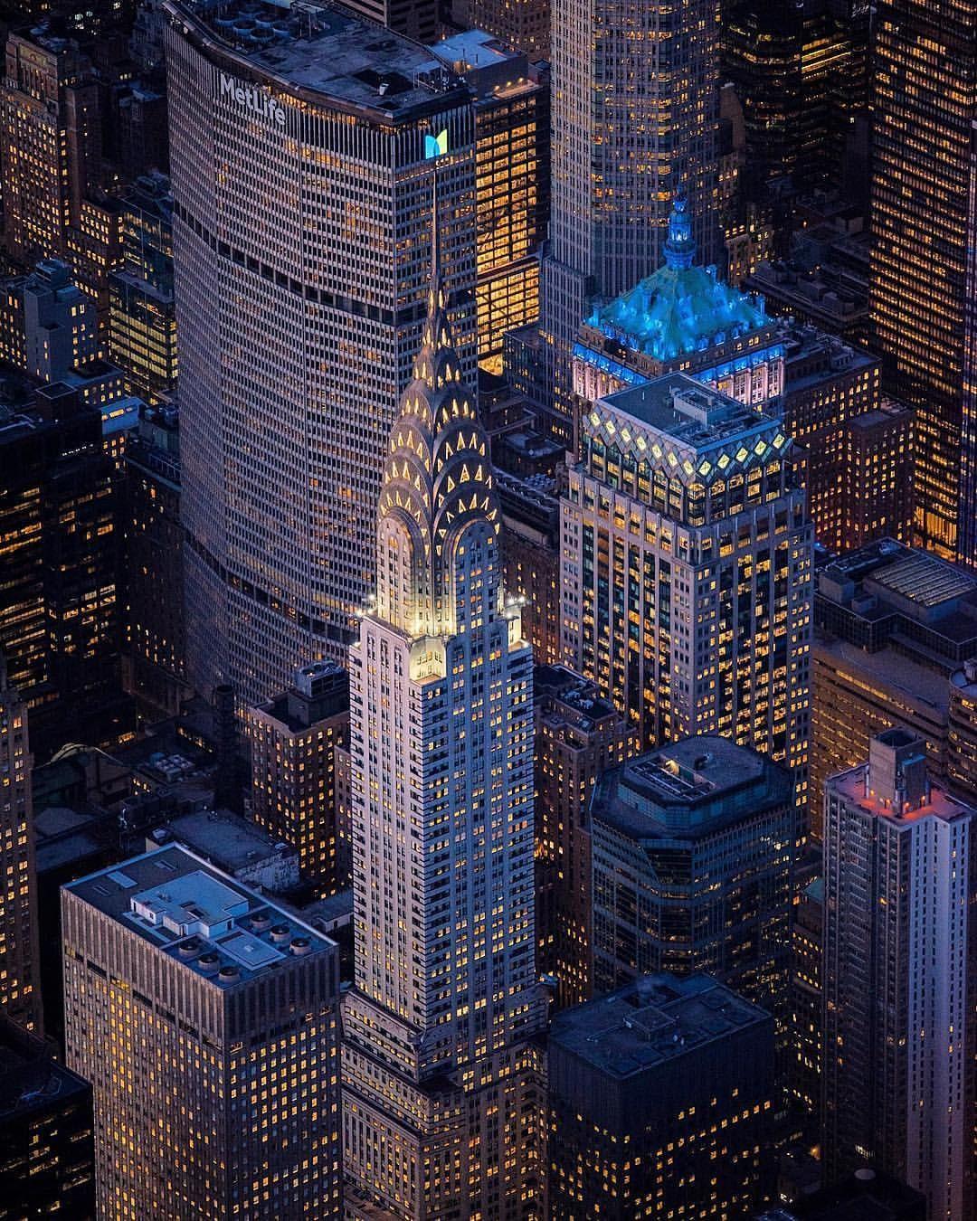 The Chrysler Building Es Un Rascacielos De Estilo Art Deco Ubicado