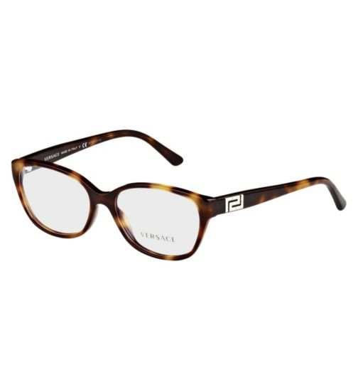 versace womens havana glasses 0ve3189b opticians boots