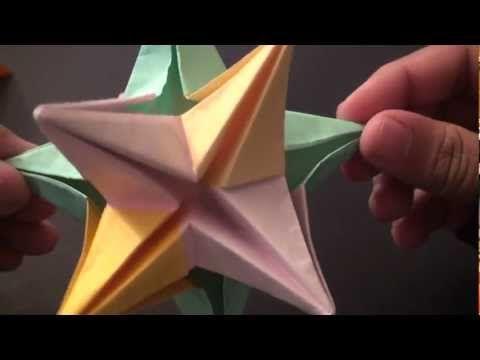 Photo of Origami Modular Decorative Star Ball – SunderOrigami!
