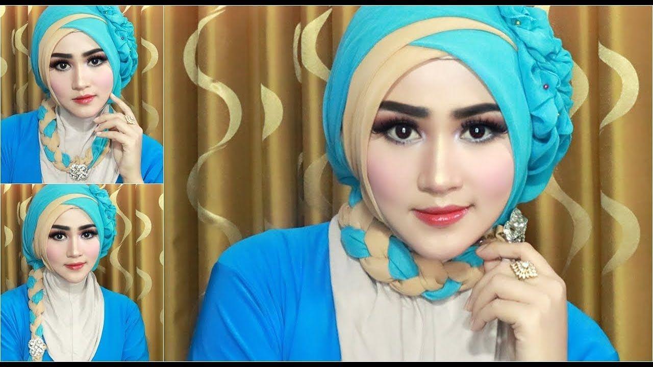 Tutorial Hijab Segi Empat Untuk Fashion Show Modelhijab44