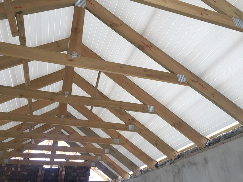 New Isoboard Installation At Kelderhof Country Estate By Wp Roofing Isoboard Can Also Be Retrofitted Ont House Designs Exterior House Roof Roof Truss Design
