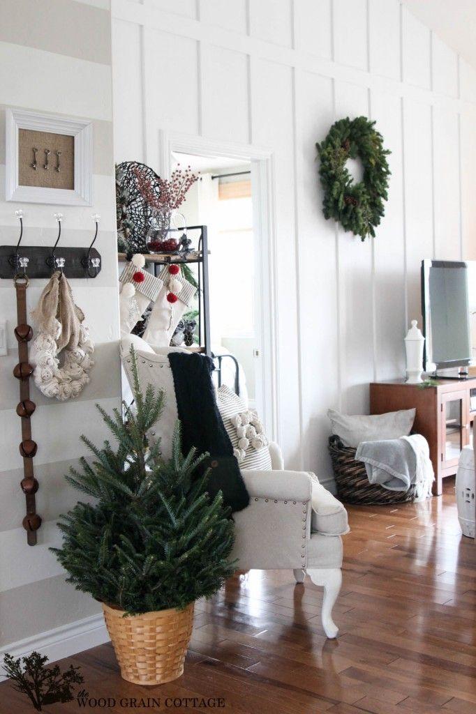 Christmas Home Tour Holiday\u0027s, seasonal and event decor - Decoracion Navidea Para Exteriores De Casas