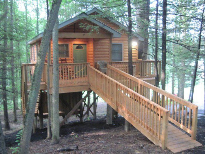 These Treehouses In West Virginia Will Give You An