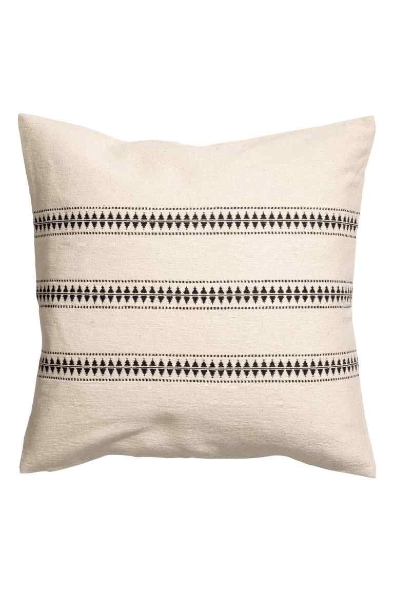 Jacquard Pattern Cushion Cover Capas De Almofadas Almofadas