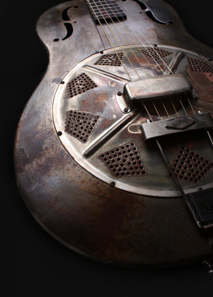 custom steel resonator guitar built for dan auerbach of the black keys | music + musical instruments