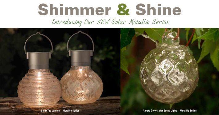 Allsop Home Garden   Shimmer U0026 Shine Solar Lights