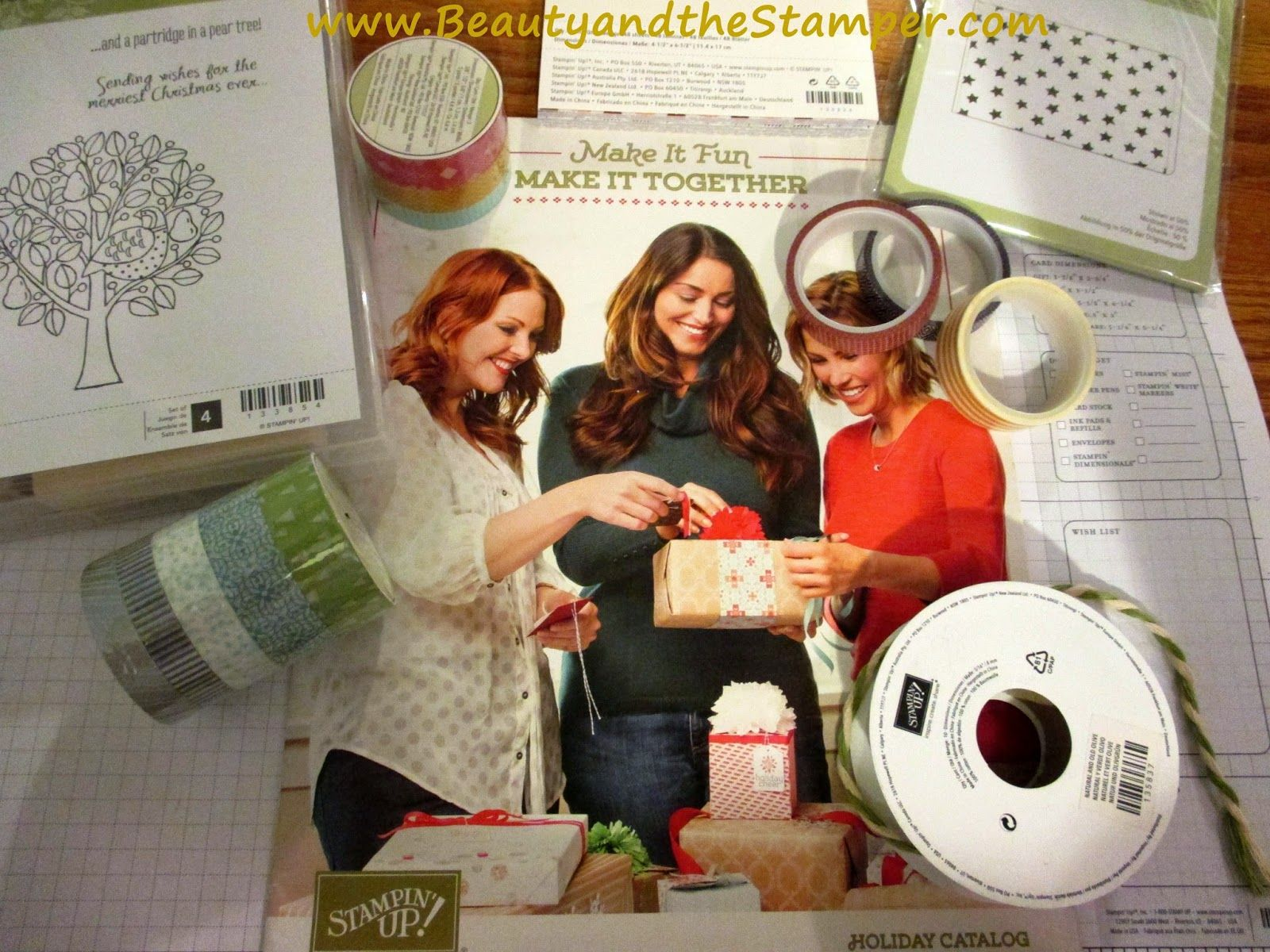 The Stampin' Up!  Holiday Catalog is HERE!!!   www.jeanpiersanti.stampinup.net