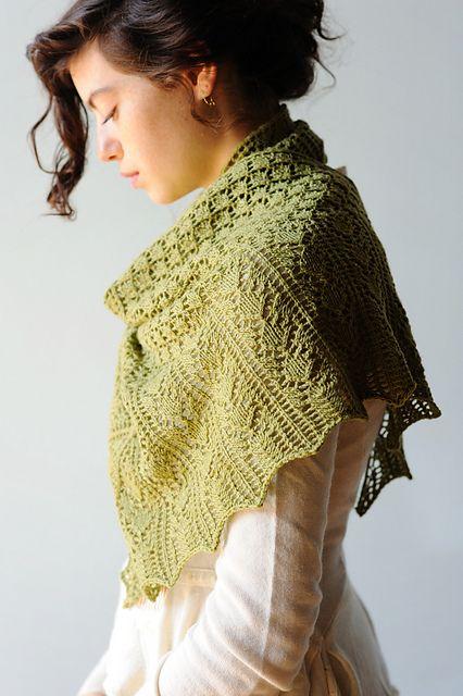 Ravelry: Alaria Shawl pattern by Leah B. Thibault