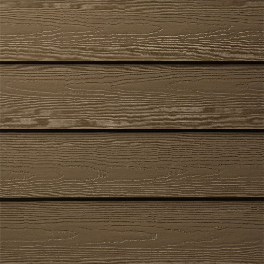 James Hardie Hardieplank Primed Chestnut Brown Cedarmill Lap Fiber Cement Siding Panel Actual 0 312 Hardie Plank Fiber Cement Siding Fiber Cement Lap Siding