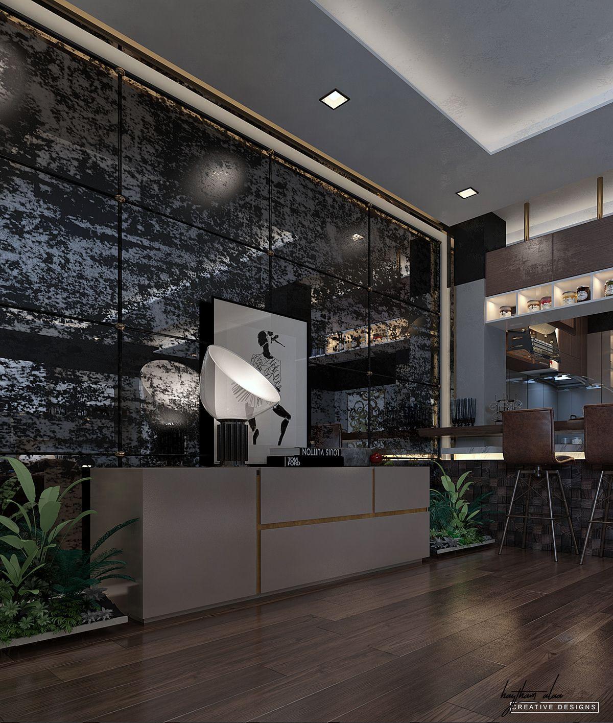 Basement Interior Design: Soft Modern Villa Basement On Behance