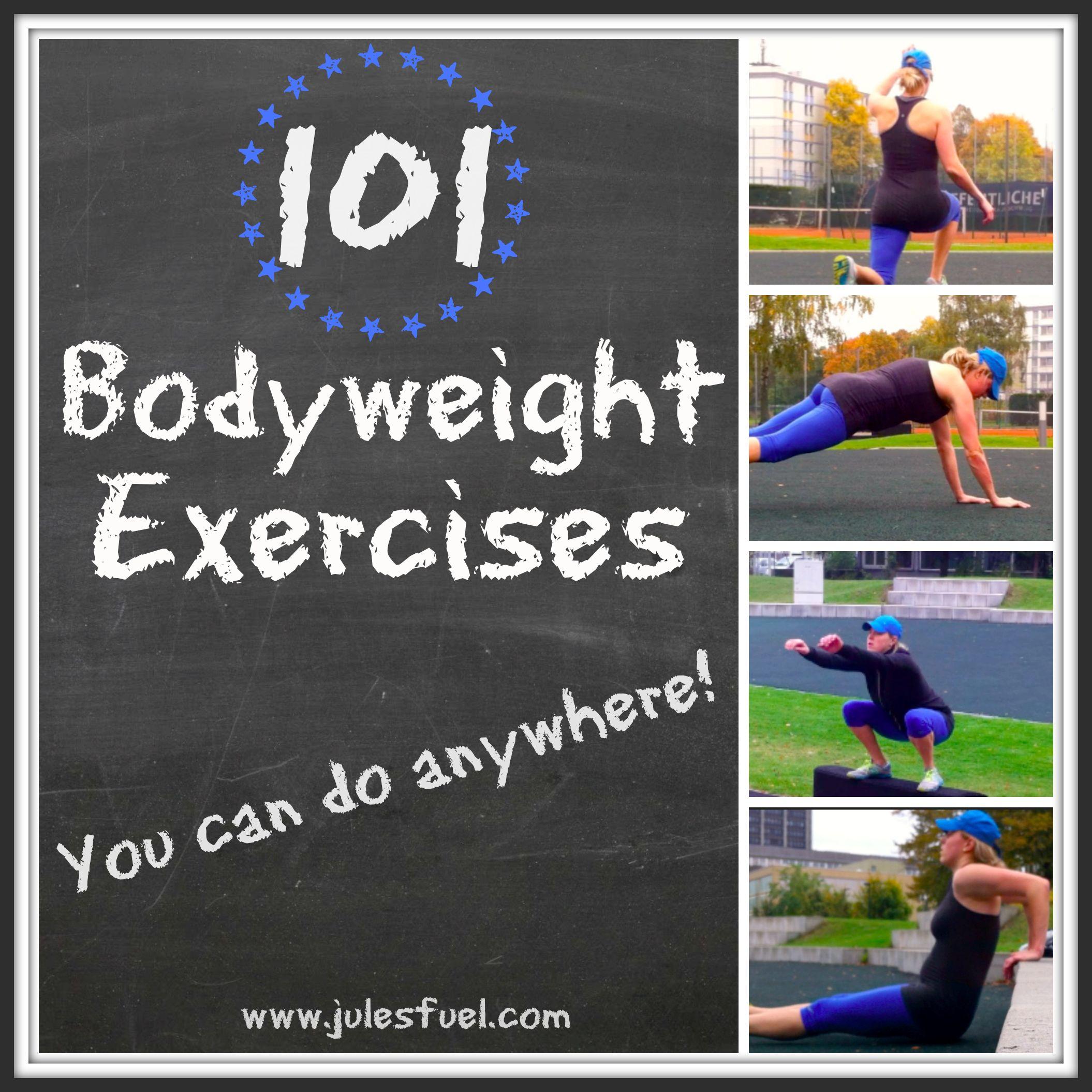 bodyweight exercises Fitness Pinterest Exercises Crossfit