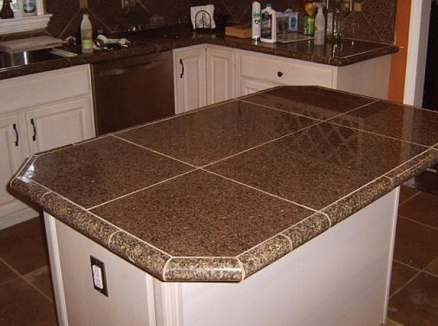 20 Options For Kitchen Countertops Tile Countertops
