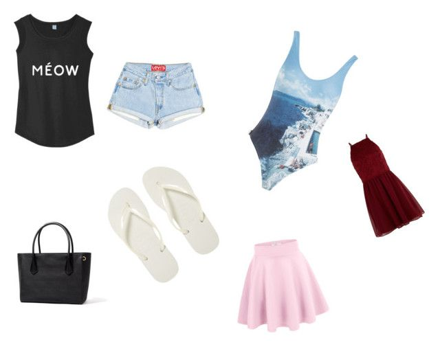 """""""Summer outfit"""" by leahmplz ❤ liked on Polyvore featuring Havaianas, Orlebar Brown and New Look"""