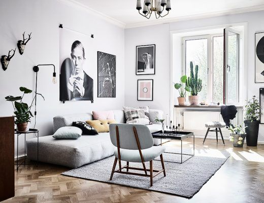 Lounge sofa * scandinavian style & some subtle colors * look great ...
