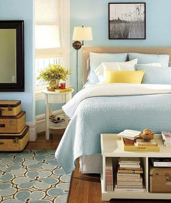 21 Pastel Blue Bedroom Design Ideas Pretty stuff