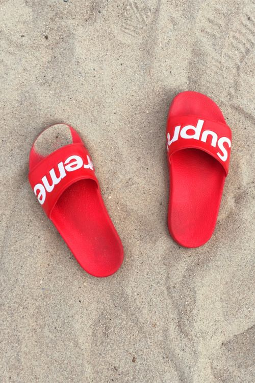 b0db7f971cb2d0 Supreme Flip Flops | Background pics in 2019 | Shoes, Sandals, Fashion