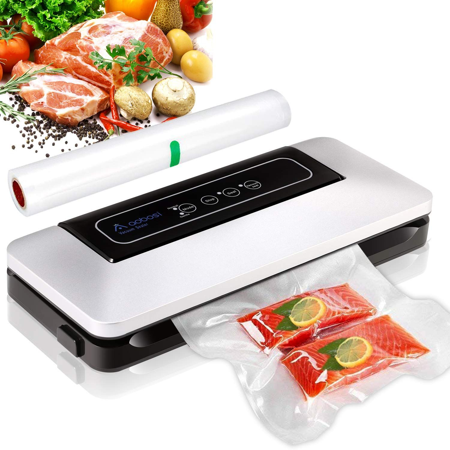 Aobosi Vacuum Sealer Automatic Food Savers Vacuum Machine With Bpa