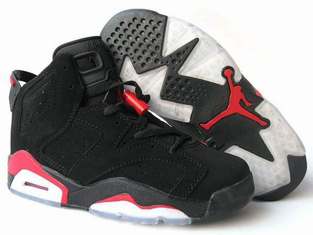 online retailer ffcd5 46db1 buy nike air jordan 6 women shoes black red white online