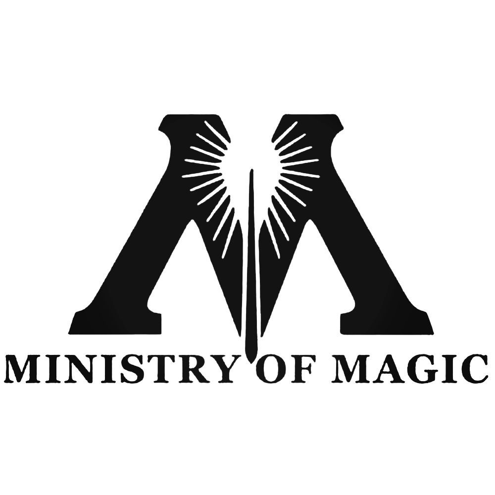 Harry Potter Ministry Of Magic Set Decal Sticker