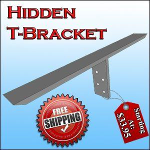 Hidden T Granite Bracket / Brace. Hidden Granite Counter Top Support. The  Original Granite